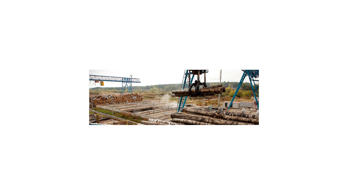 Logo Log handling machinery