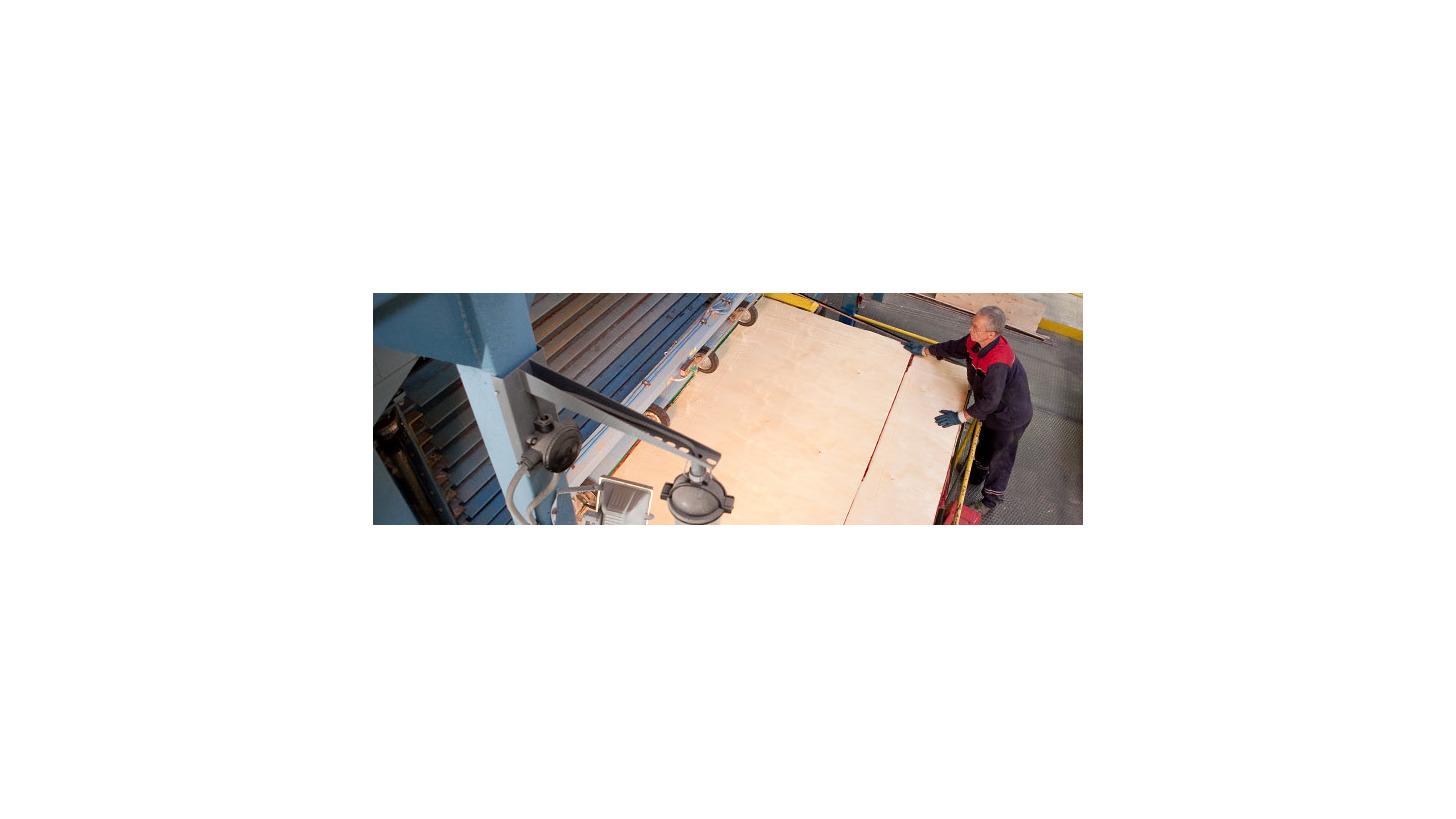 Logo Plywood pressing