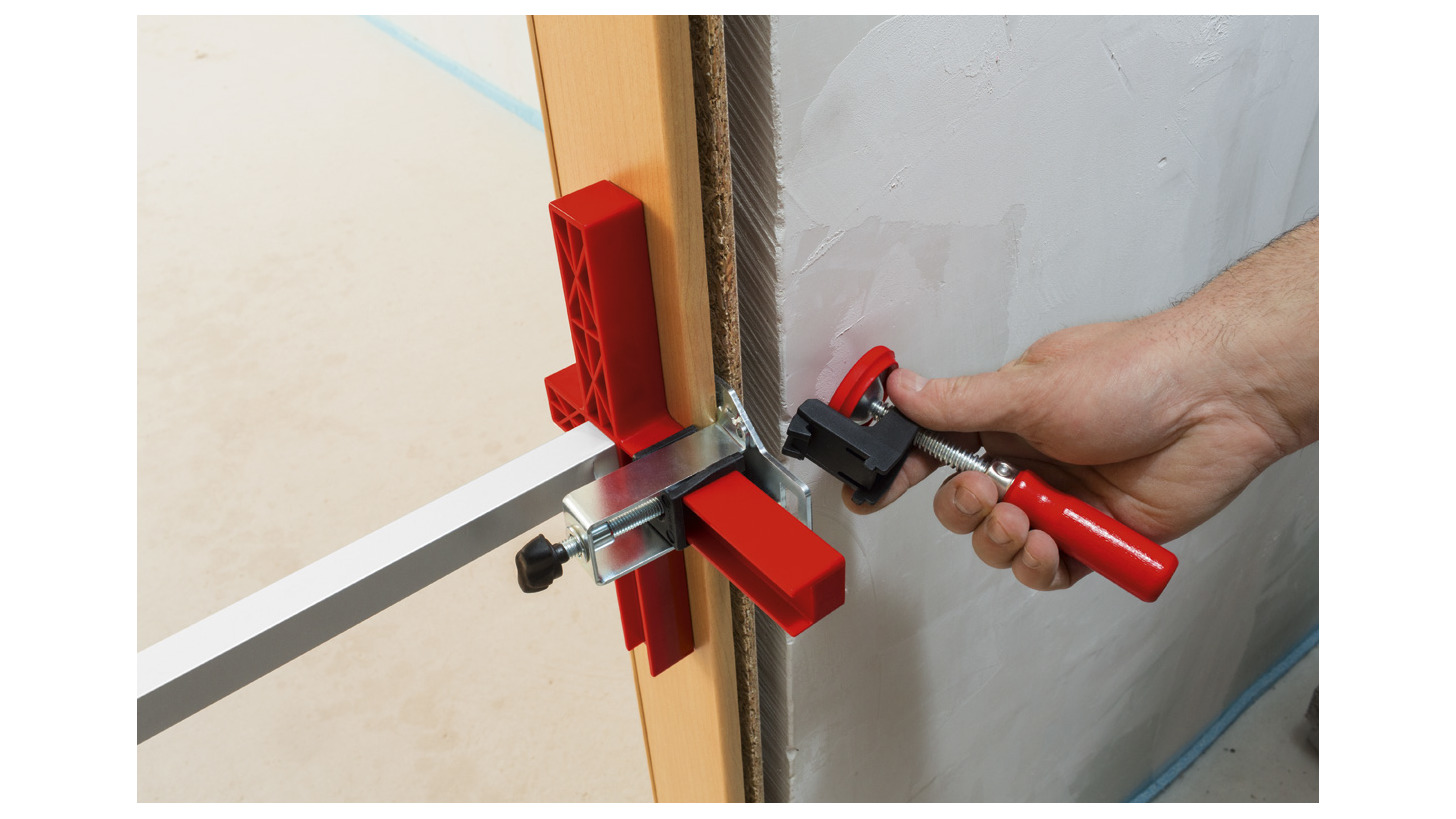 Logo Door frame assembly tools