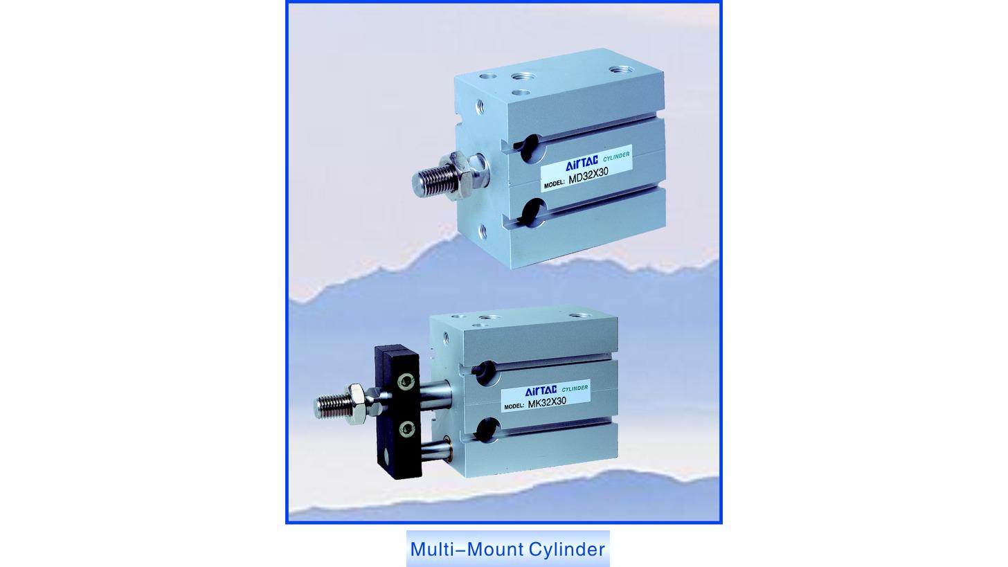Logo Multi-Mount Cylinder