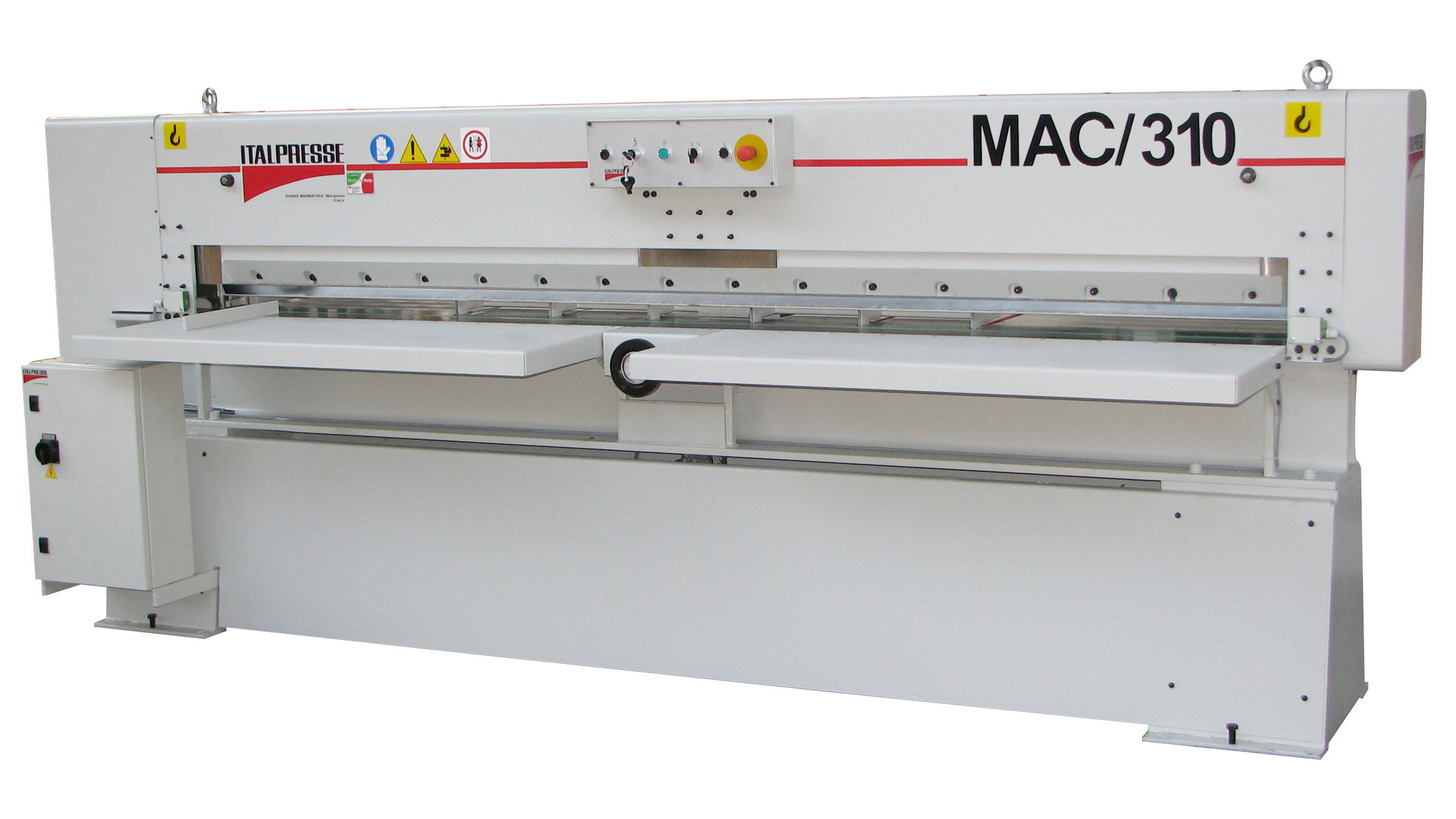 Logo Furnierpaketschere MAC/310