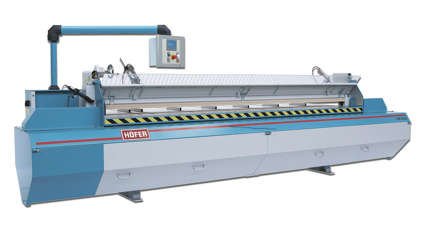 Logo Veneersaw - FSP-A in automaticoperation