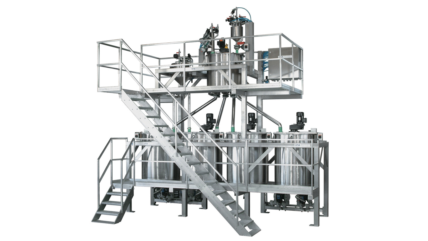 Logo Fully automatic weighing, mixing and meterin systems