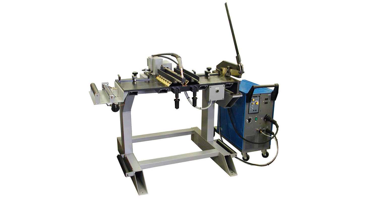 Logo Butt welding machines for large band saw blades MW-320.