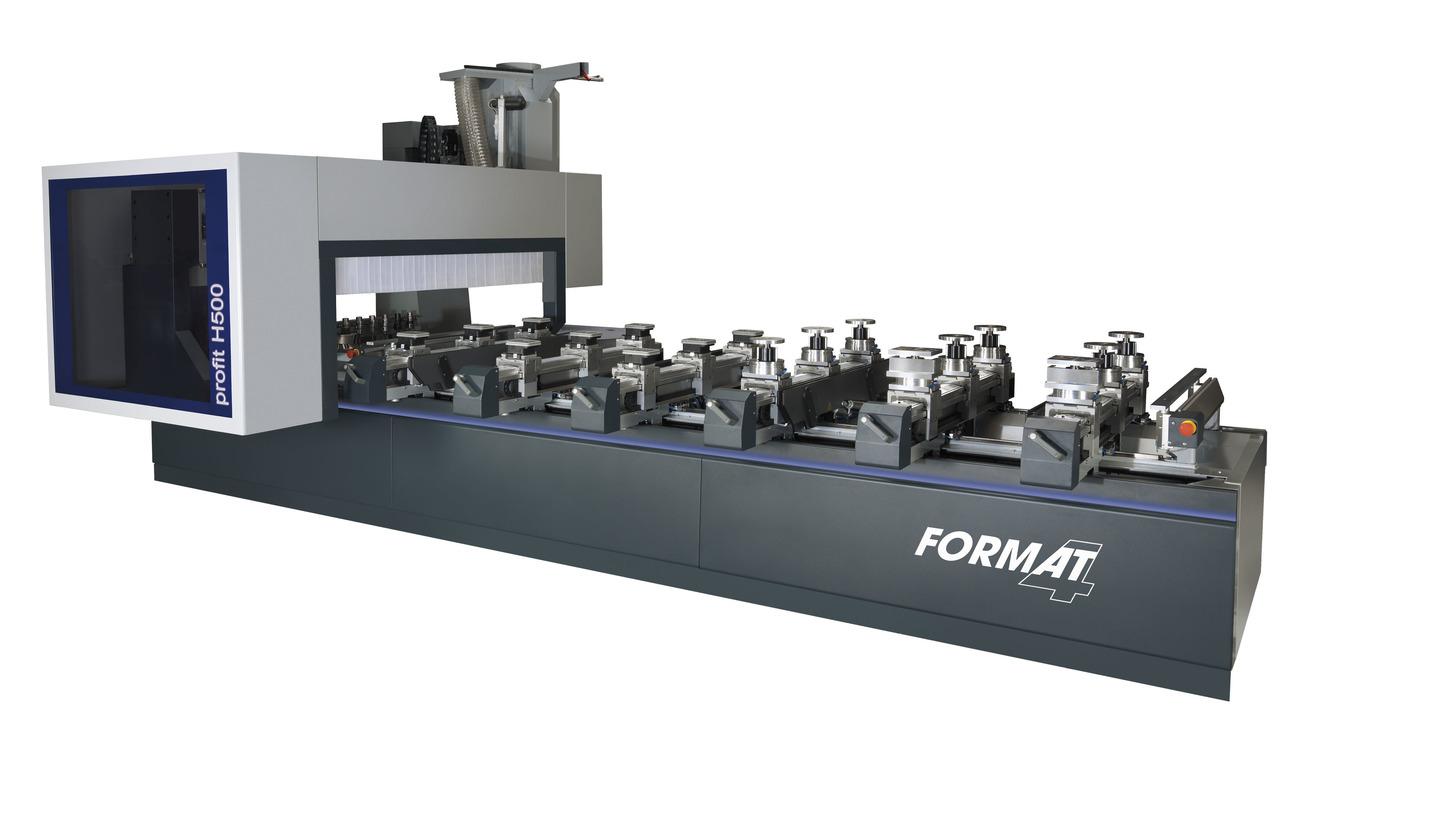 Logo FORMAT-4 5-Achs-CNC