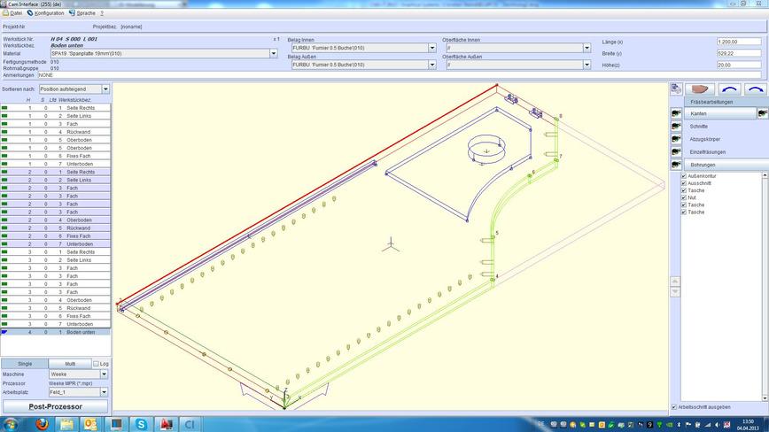 Logo CAD+T CNC Interface