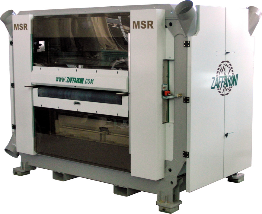 Logo Double spindle multi-blade panel saw serie MSR