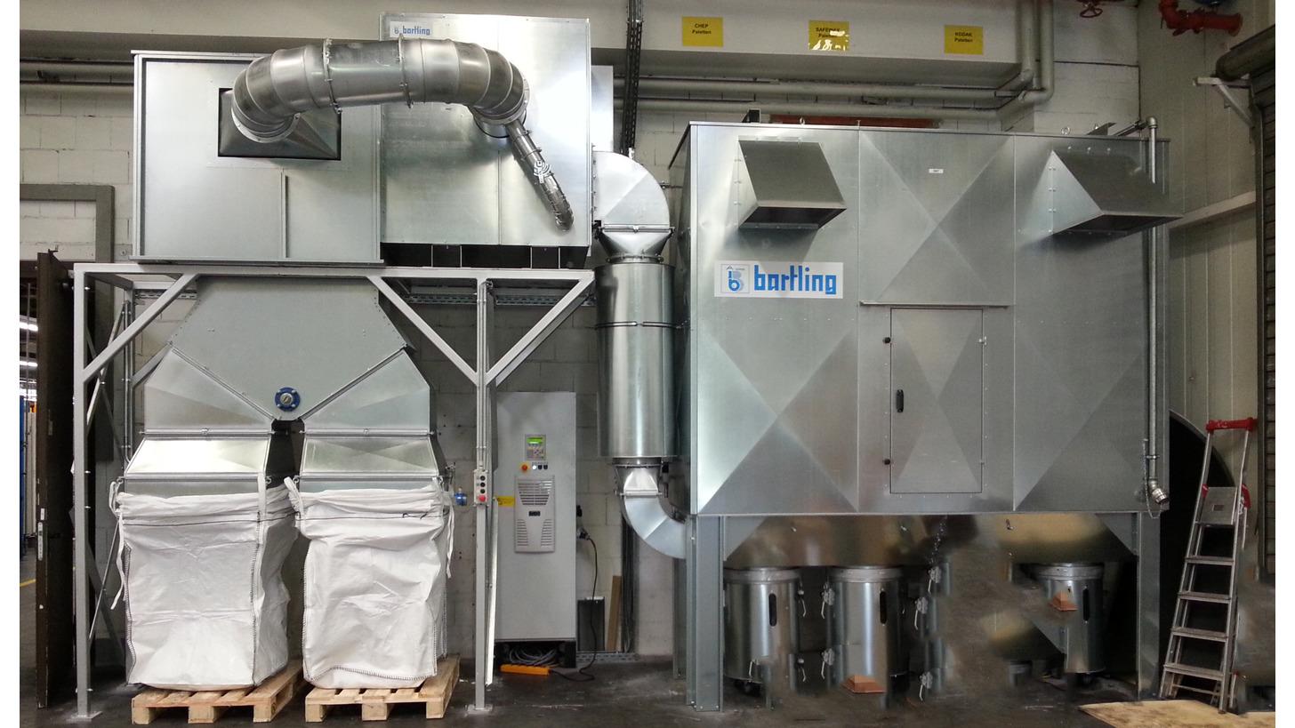Logo Dedusting Systems > 6.000 - 60.000m³/h