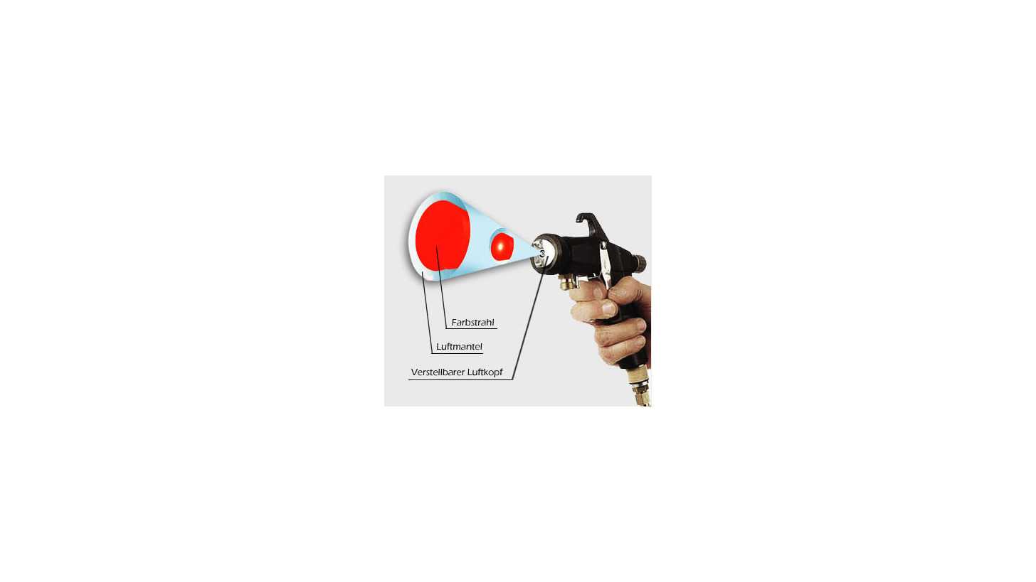Logo METACAP Spritzpistole