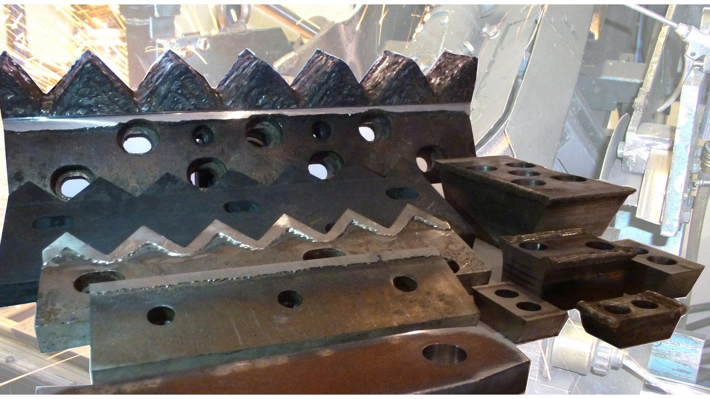 Logo Werkzeuge / Schneidwerkzeuge / Zähne /Zahnsysteme