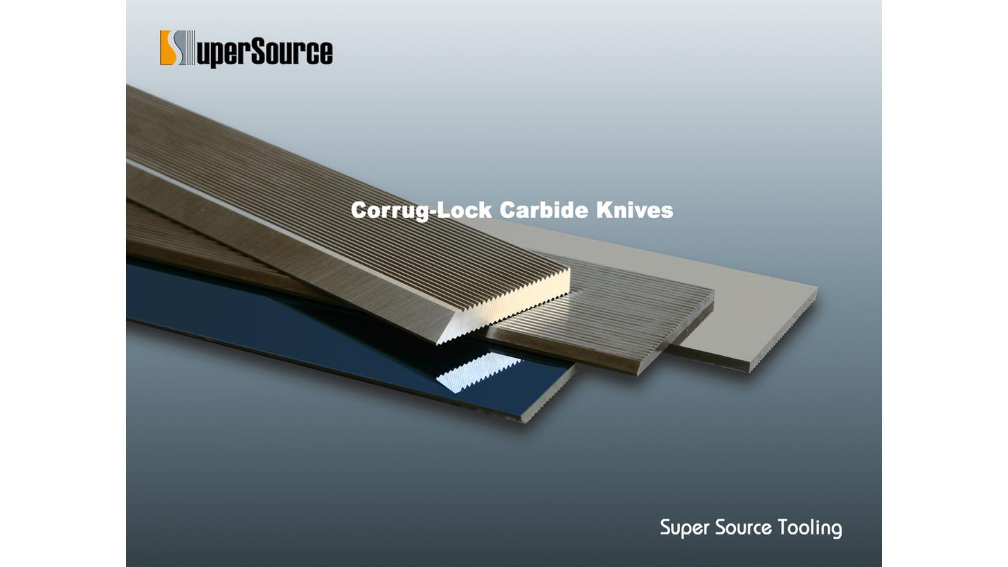 Logo Corrug-Lock Carbide Knives