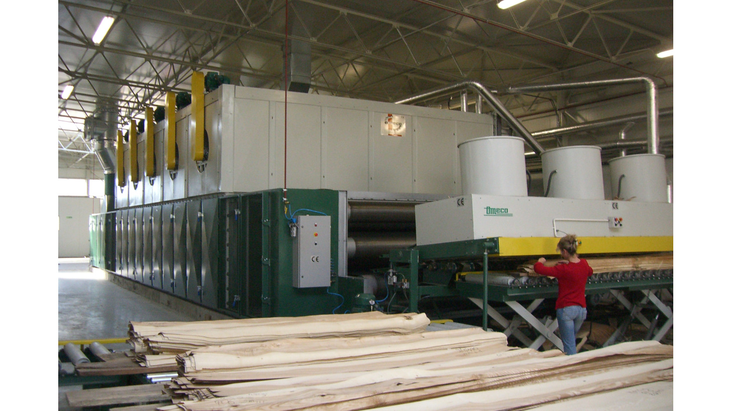 Logo PRESS-DRYER FOR FINE SLICED VENEER