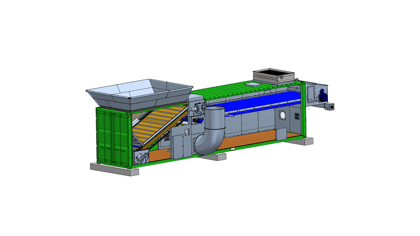 Logo NEWtainer compact belt dryer