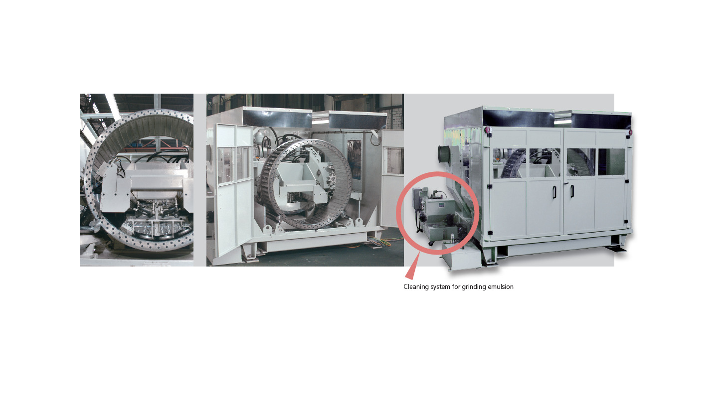 Logo MSA Automatic Knife Ring Grinding System