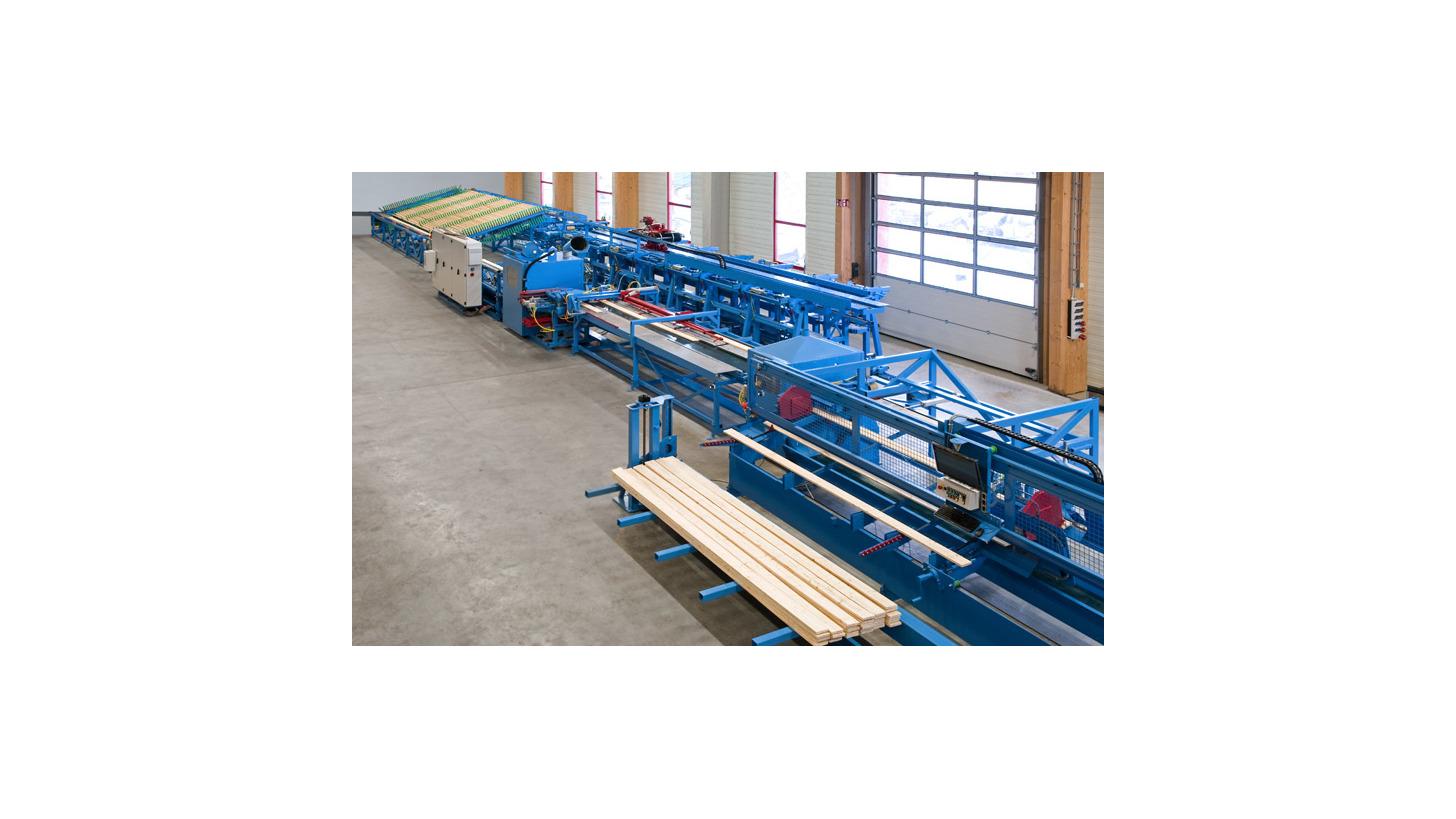 Logo Profiled wood element production line (PHE)