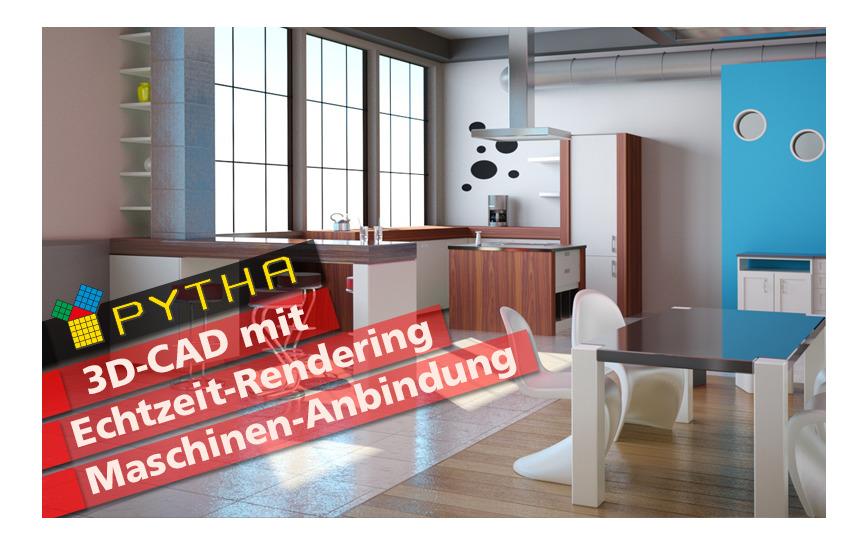 Logo PYTHA 3D-CAD