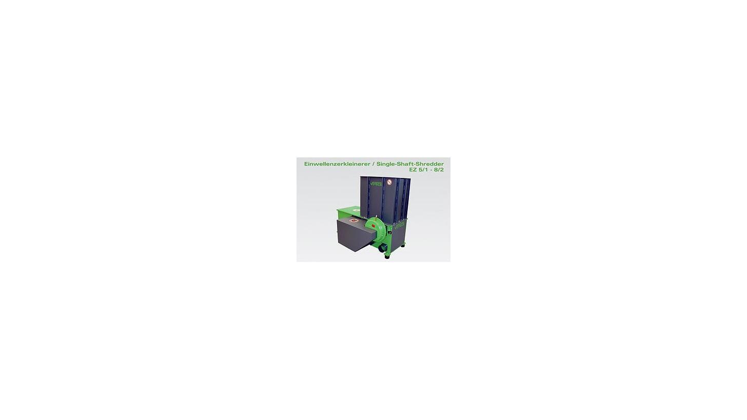Logo Single-Shaft-Shredder EZ 5/1 - 8/2