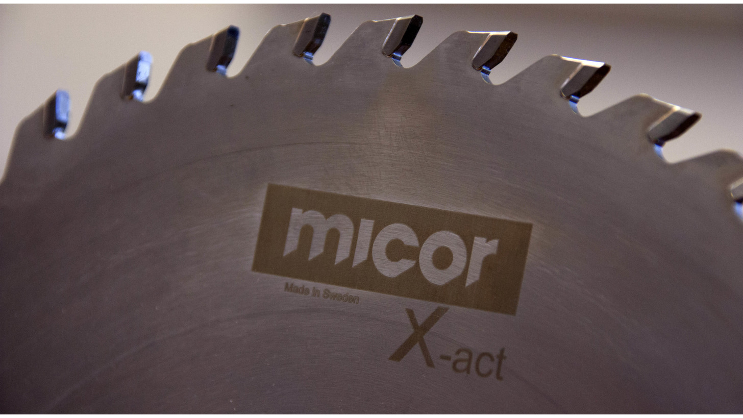 Logo Micor Xact - When you need an excellent finish!