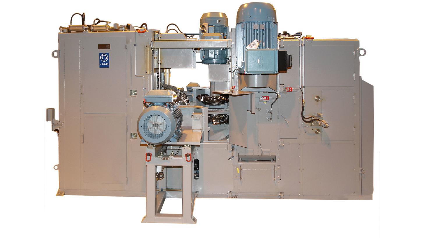 Logo HewSaw R200 and R250 series saw machines
