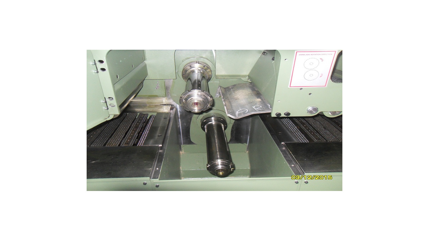Logo Double Spindle Multiple Rip Saws