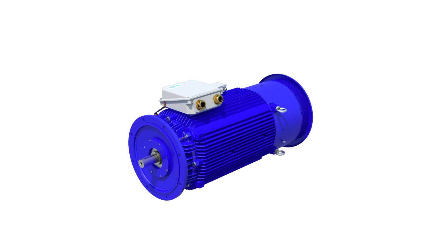 Logo Pump, fan, agitator motors