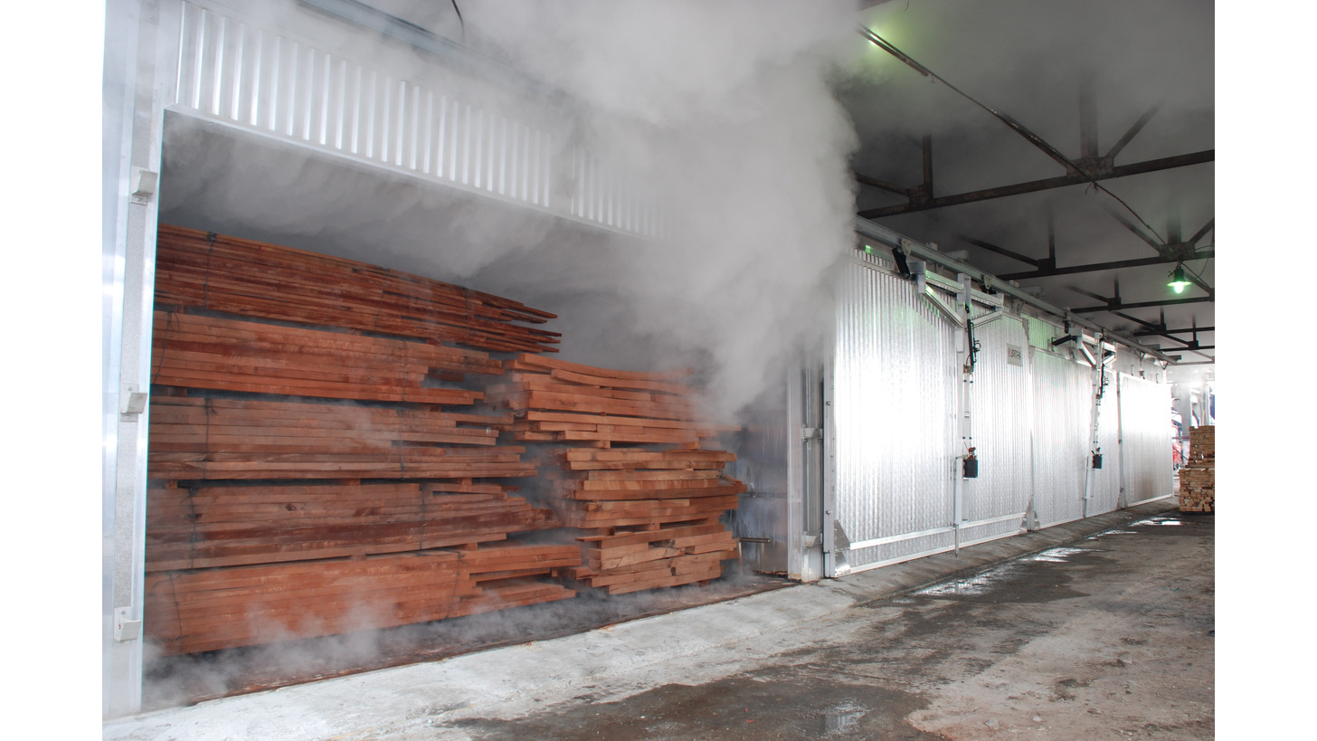 Logo Steaming chambers