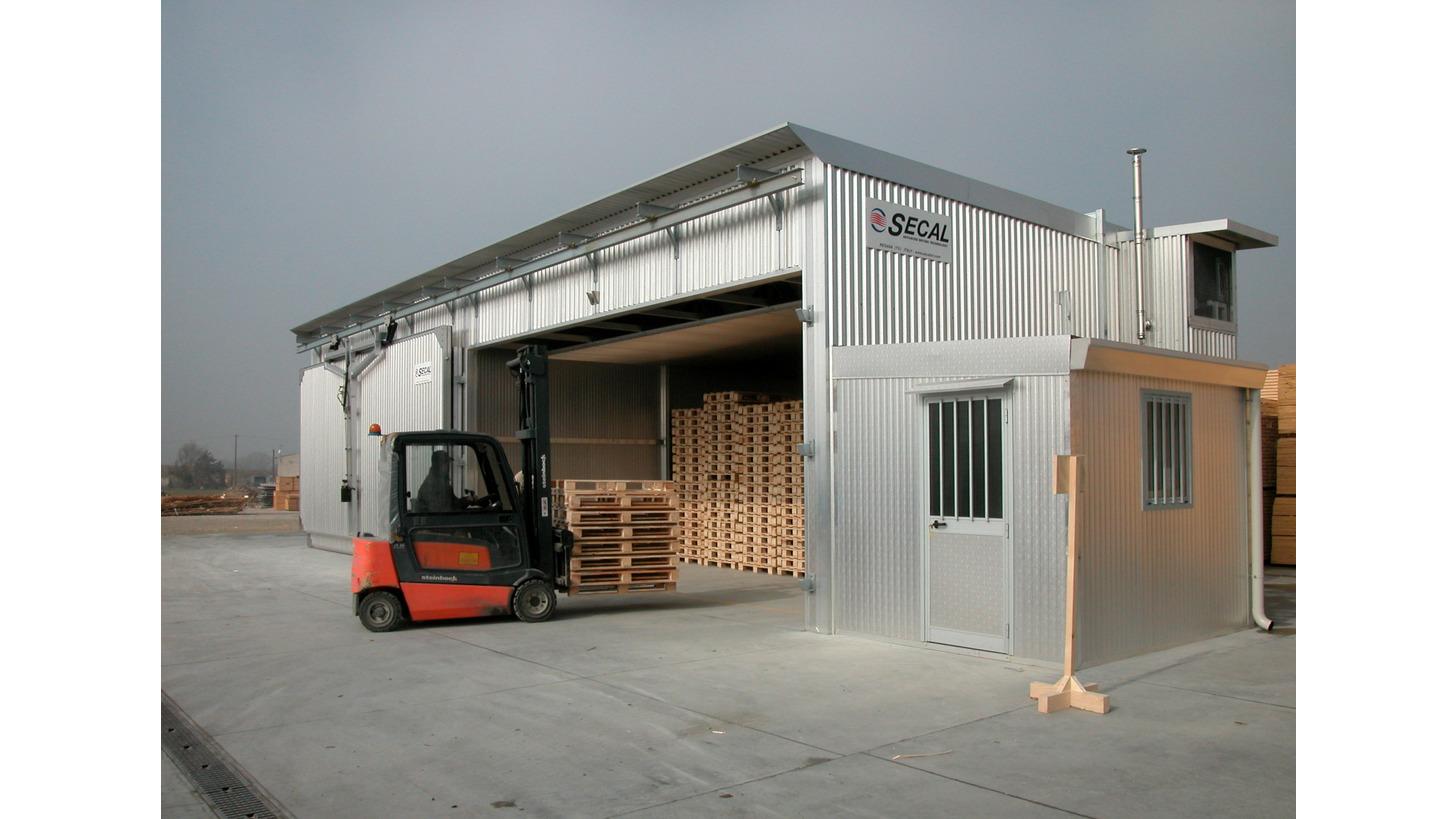 Logo Trockenkammern für Temperaturbehandlung von Holzverpackungen ISPM15
