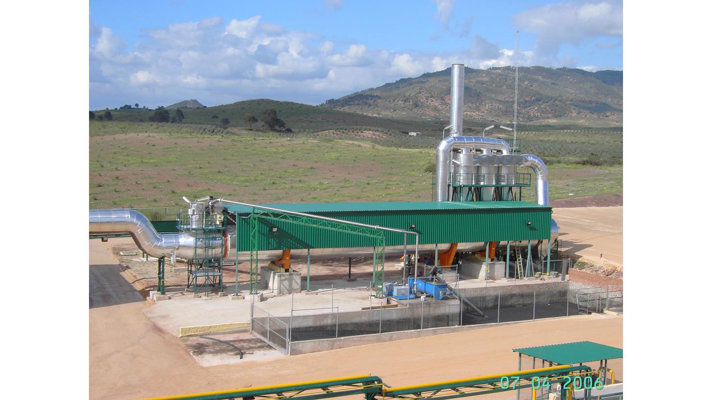 Logo Trommeltrockner für Biomasse