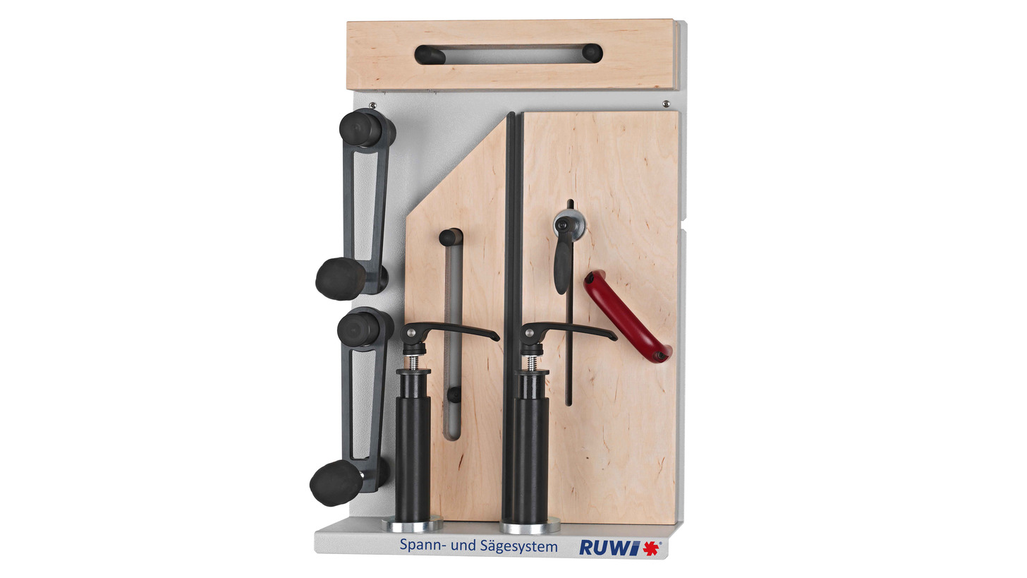 Logo Clamping and Sawing System