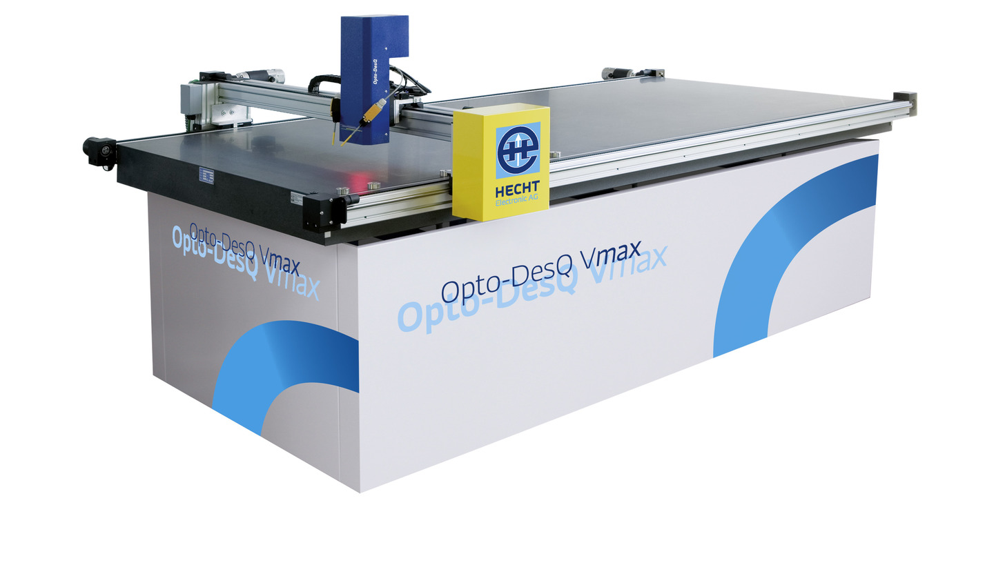 Logo OptoDesQ Vmax - measurement table