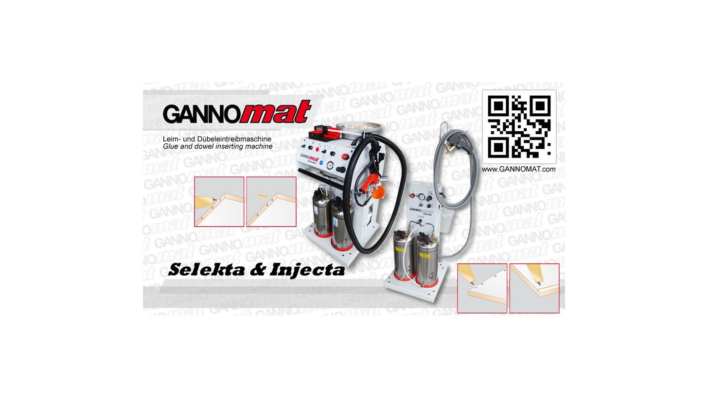 Logo Glue and dowel inserting machine