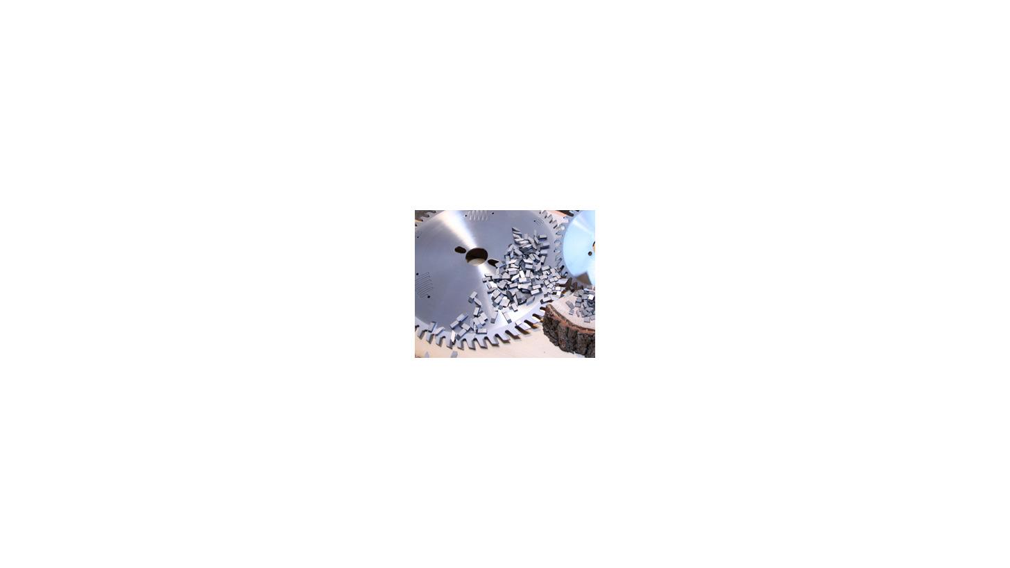 Logo Saw Tips of Tungsten Carbide & Cermet
