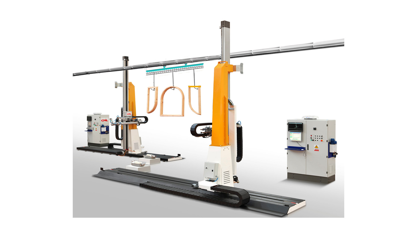 Logo Spraying robot for Joinery elements