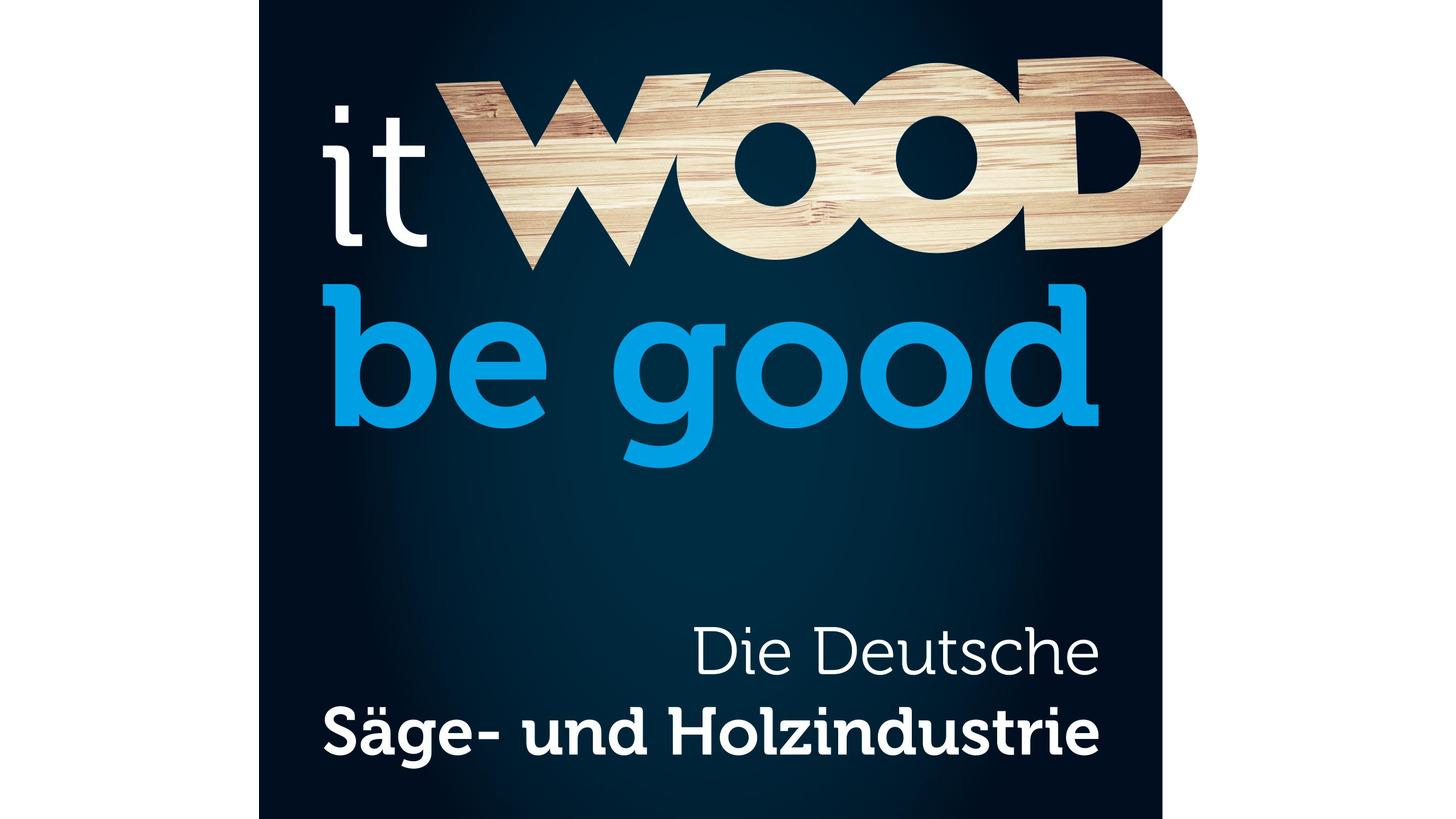 "Logo ""it wood be good"""