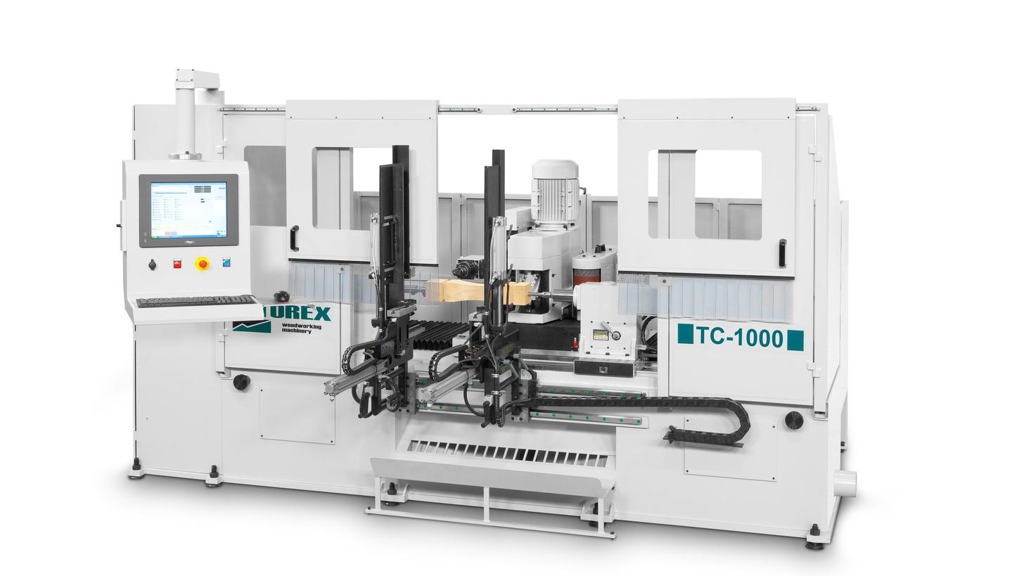 Logo TC-1000: CNC machining centres