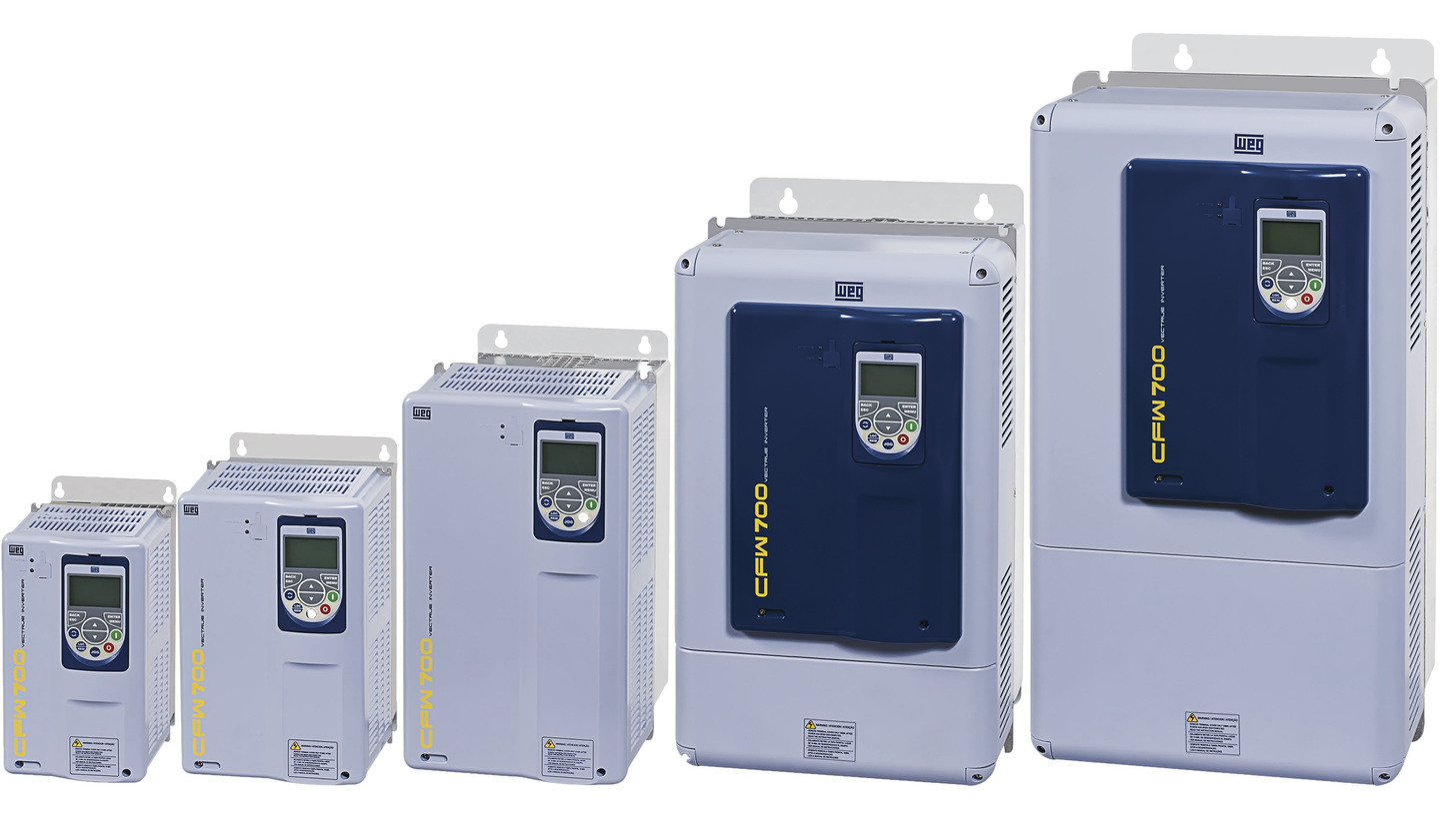 Logo CFW 700 Frequency Inverters