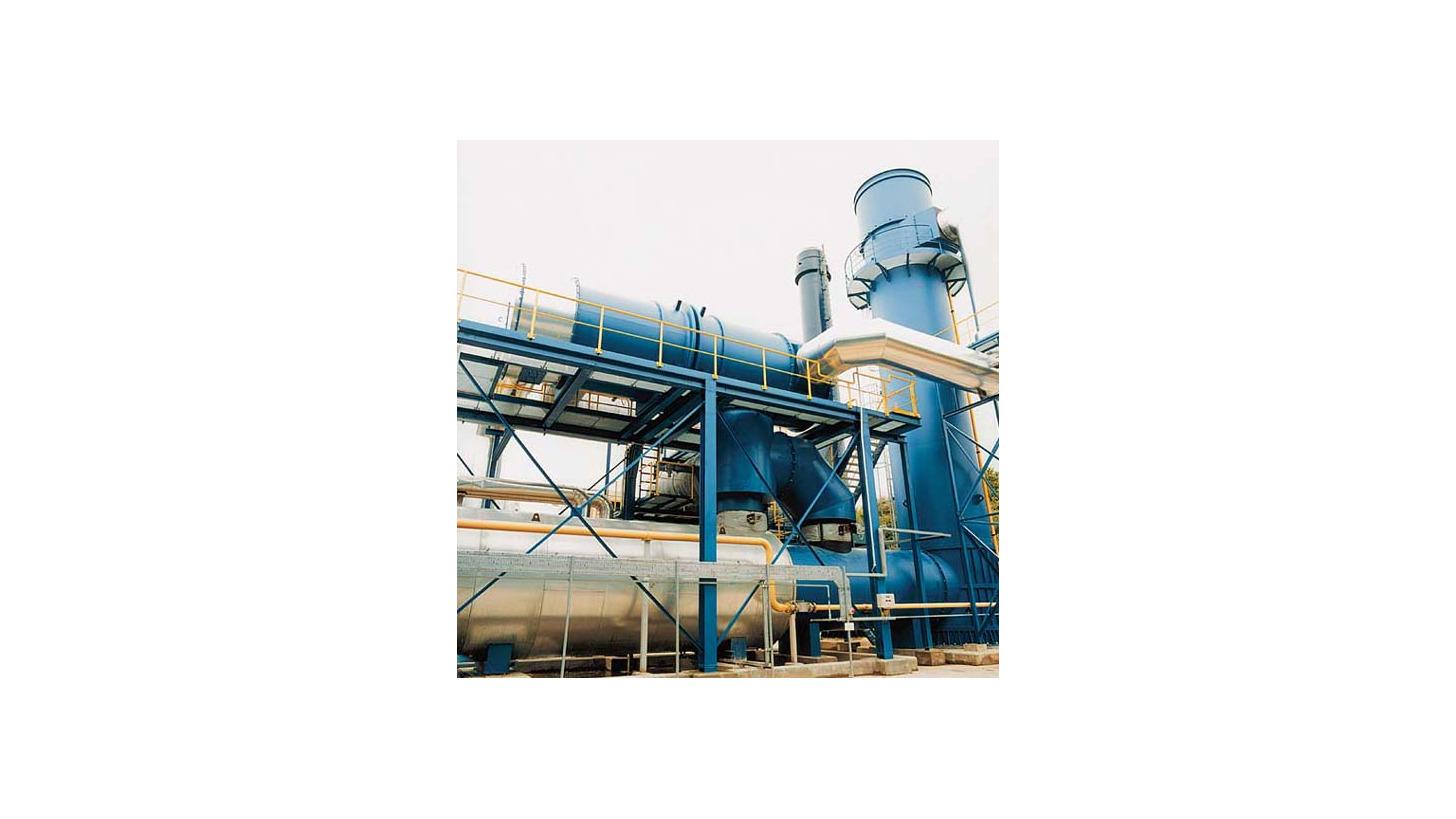 Logo Thermische Nachverbrennung für schadstoffhaltige Abluft