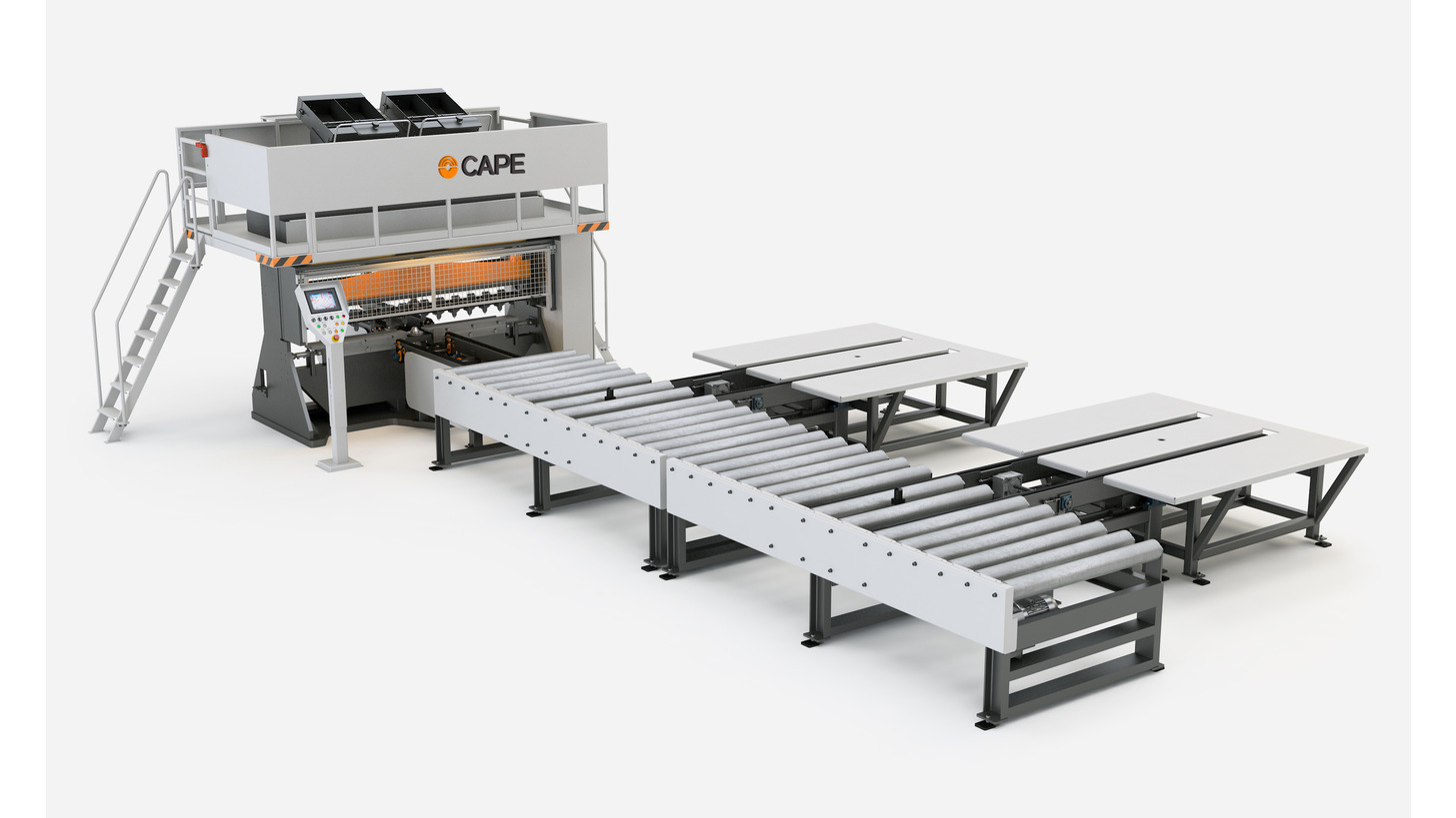 Logo CAPE woodworking machinery