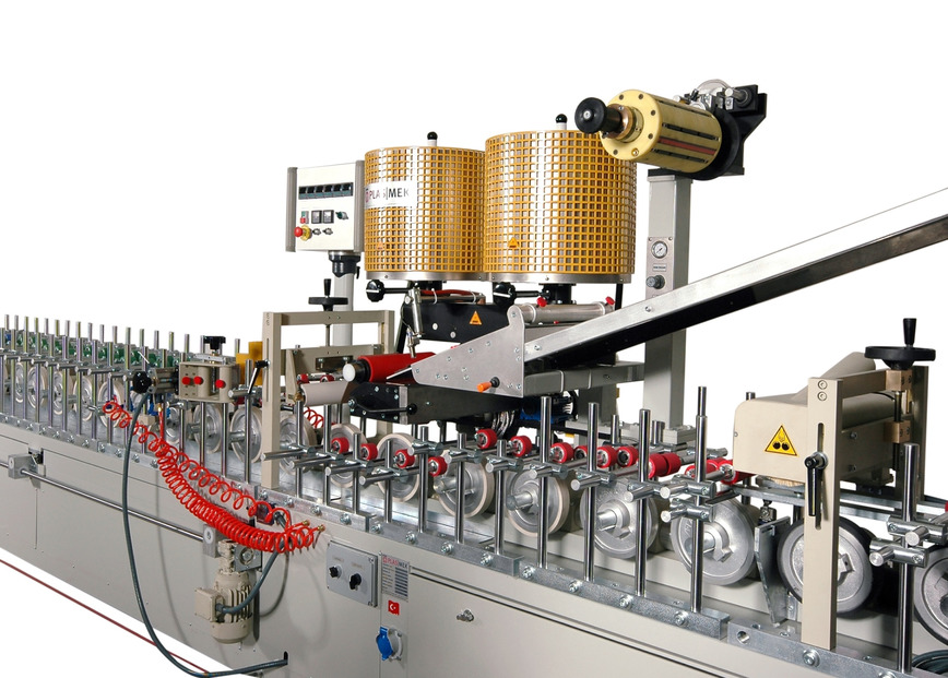 Logo EVA/PO PROFILE WRAPPING MACHINE