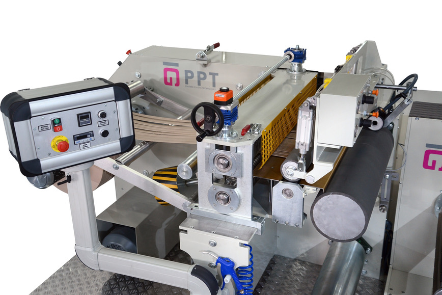 Logo EDGE BAND SLITTING AND REWINDING MACHINE