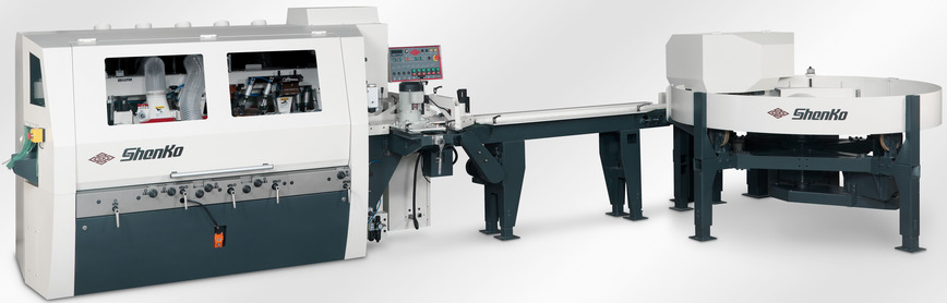 Logo High Speed Short Wood 4-side Moulder