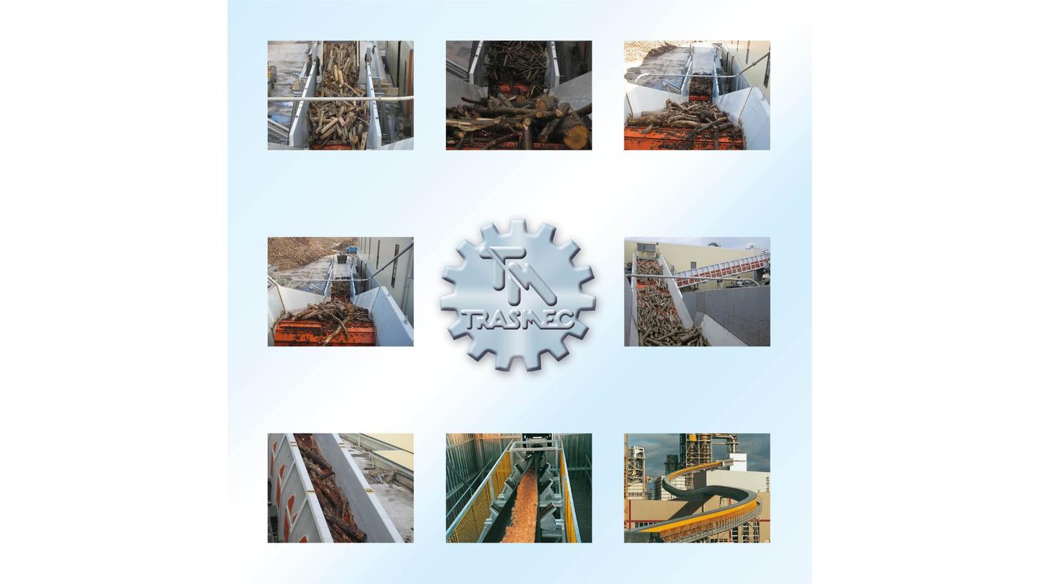 Logo Conveying&Storage equipment for wood-based & energy recycling industry