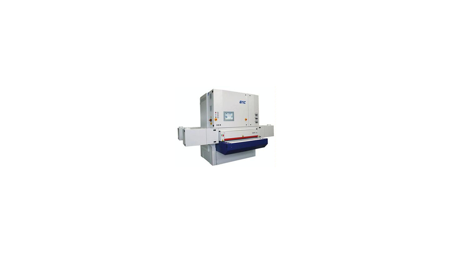 "Logo Wide belts calibrating sanding machine ""GIANT 1350"""