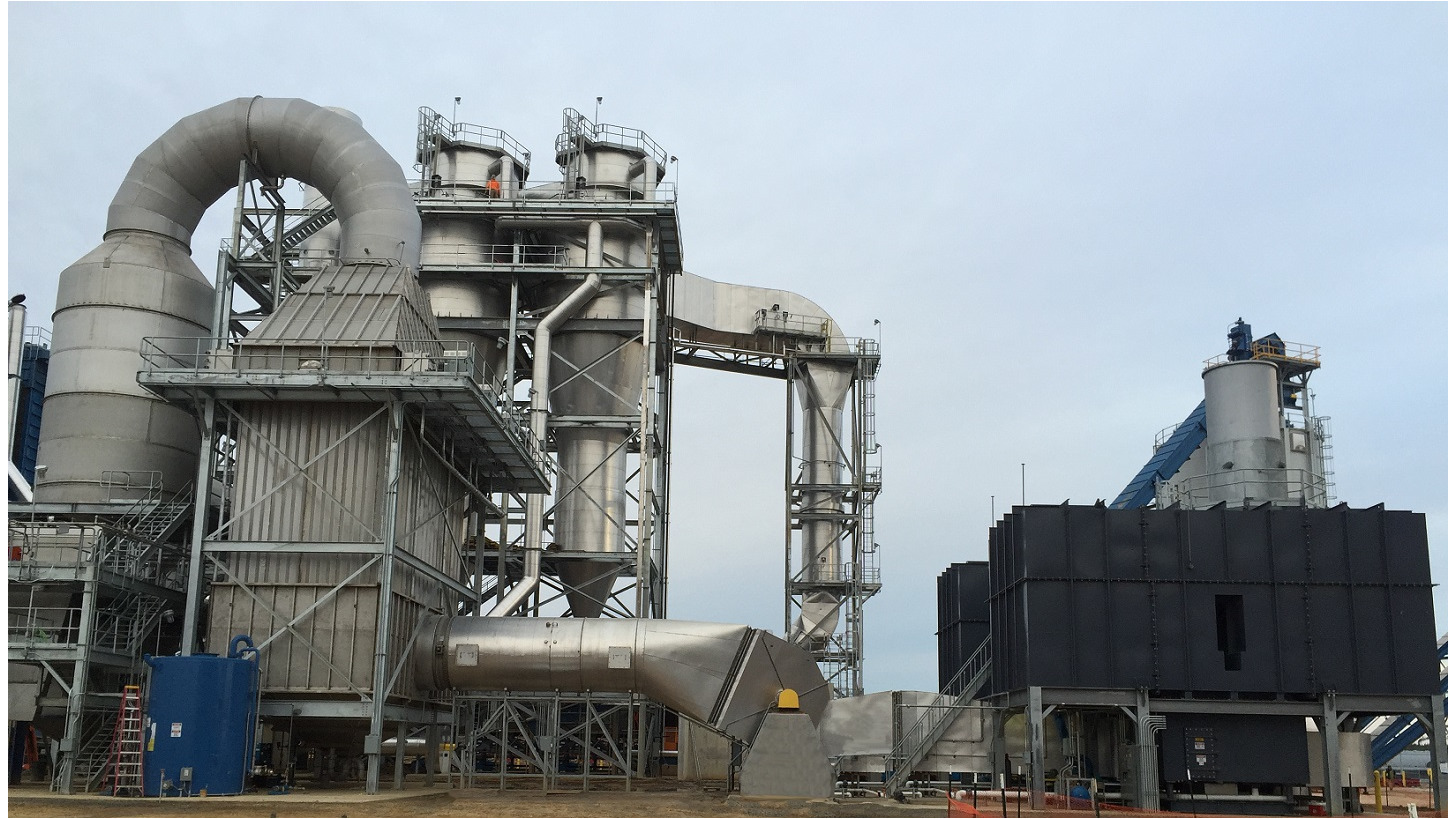 Logo Exhaust air and gas purification plants