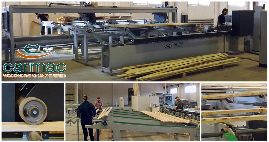 Logo Woodworking finishing phase