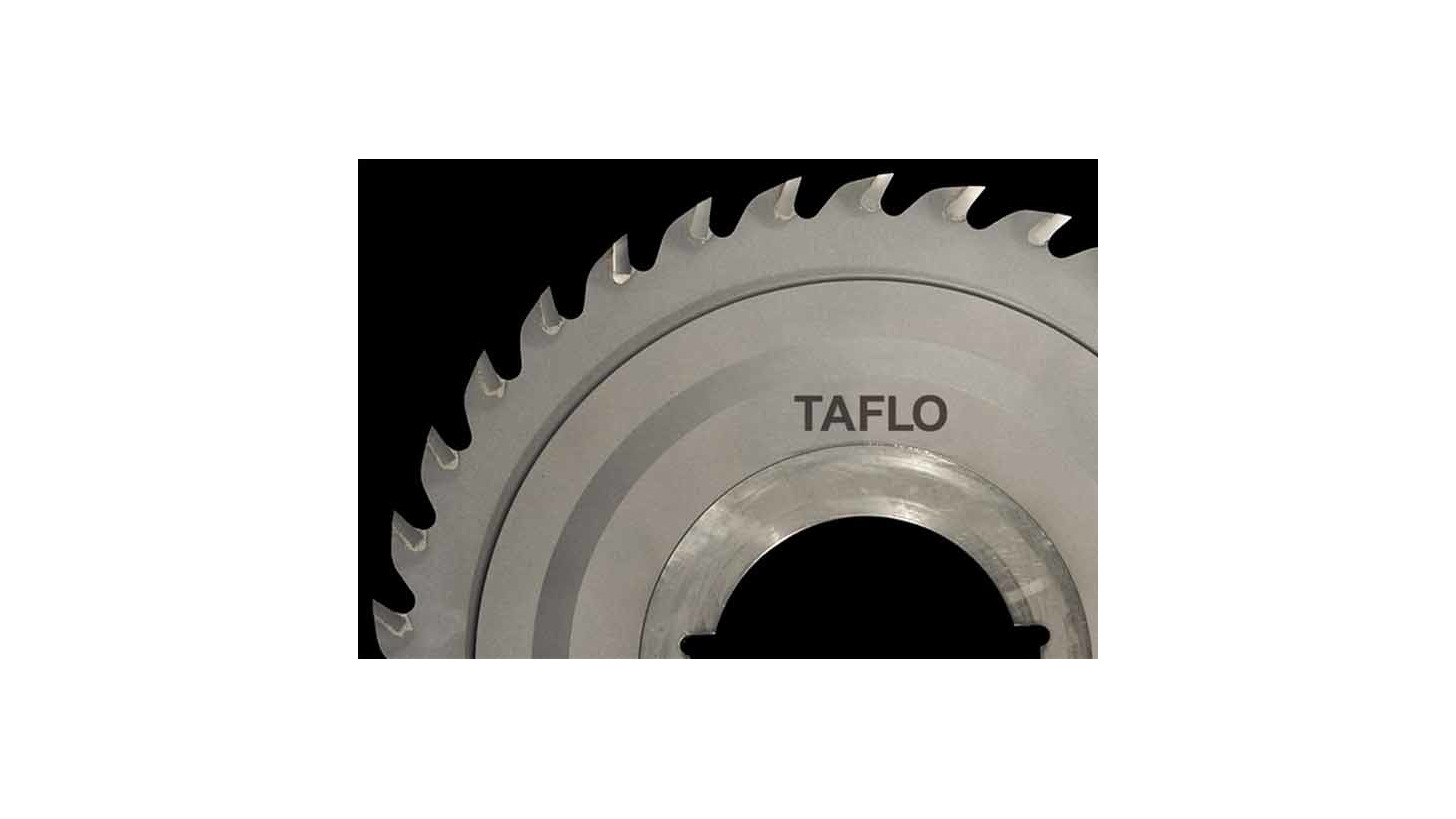 Logo T.C.T. tipped circular saws for saw mill