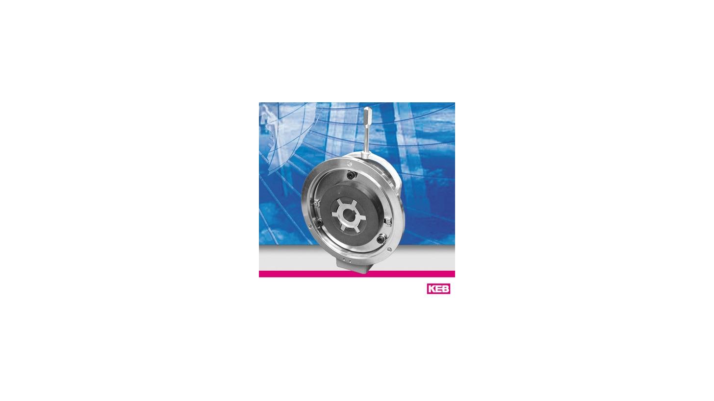 Logo KEB COMBISTOP - Federkraftbremsen