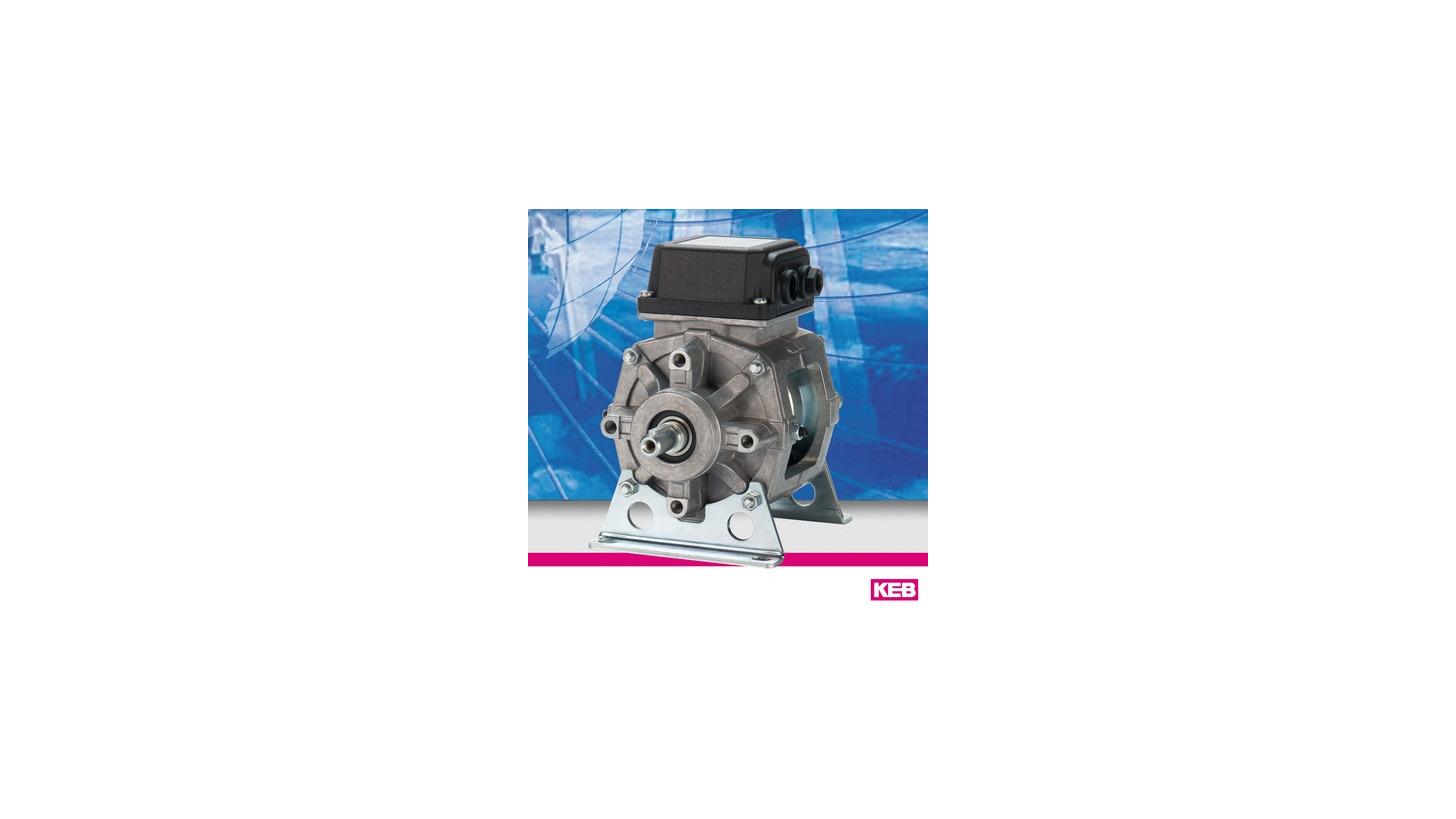 Logo KEB COMBIBOX - Clutch-brake combinations