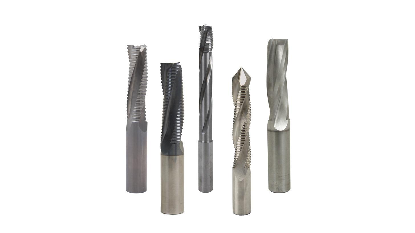 Logo Solid carbide spirals