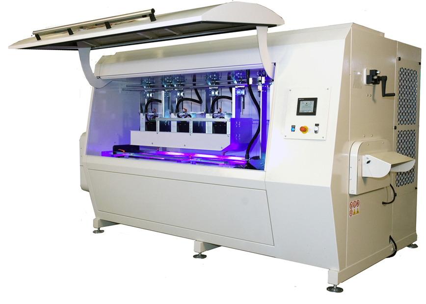 Logo UV DRYING OVEN mod. KUREX 1 + 6